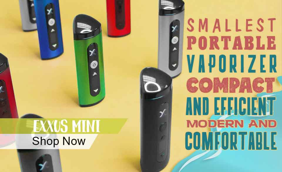 Exxus Mini Portable Vaporizer