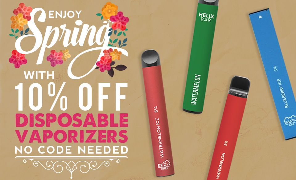 10% off Disposables
