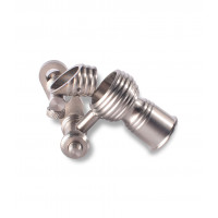 Female Titanium 14/18mm Bucket Domeless Nail by Wulf Mods