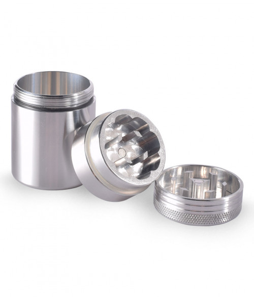 3 pc Space Case Scout Grinder Container Large Magnet 76mm