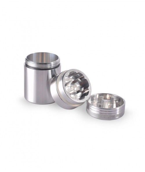 3 pc Space Case Scout Grinder Container Small Magnet 38mm