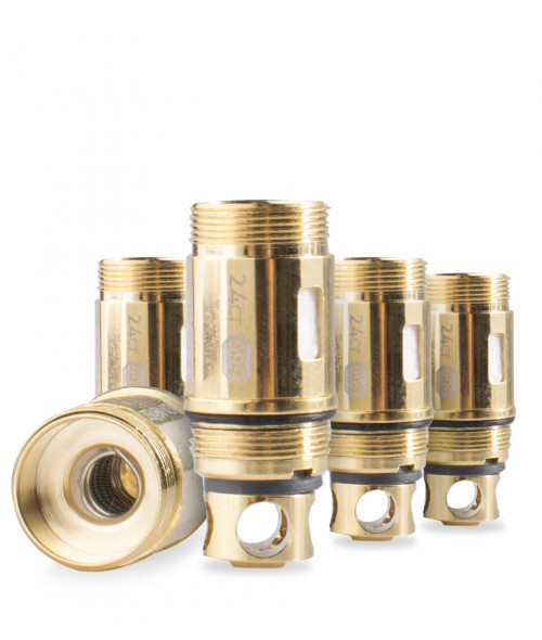 gClapton Gold Plated OVC Coils for SubTanks by Atom Vapes