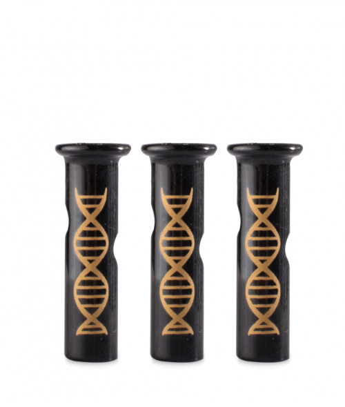 DNA Tokers Gold Edition Black Tips 3 Count