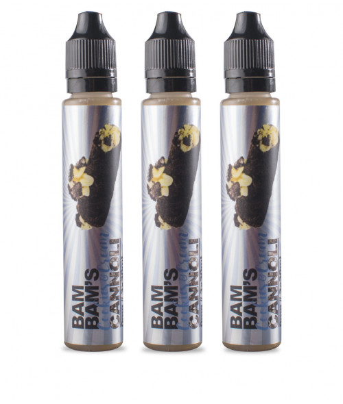 Cookies & Cream by Bam Bam's Cannoli E-Liquid