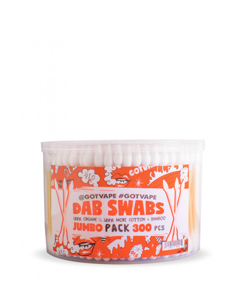 Dab Swabs Organic 300 Jumbo pk by Got Vape