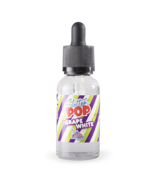 Slotter Pops The Grape White by Lost Art Liquids