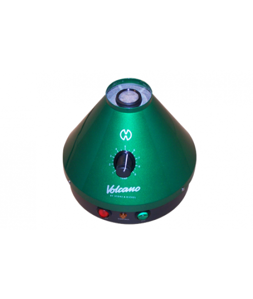 Green Classic Volcano Vaporizer with Solid Valve Set