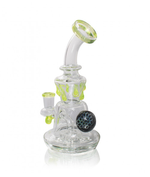 "8"" Slime Banger Hanger with Shower Head Perc"