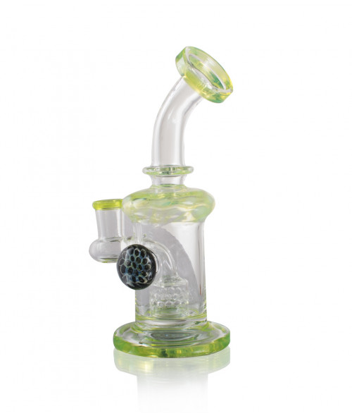 "7"" Slime Banger Hanger with Honey Comb Perc"