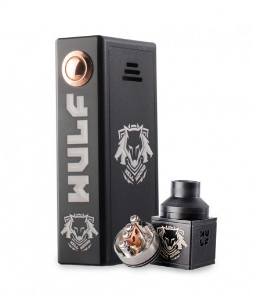 Hell Hound Series Pro Mechanical Box Mod Kit by Wulf Mods