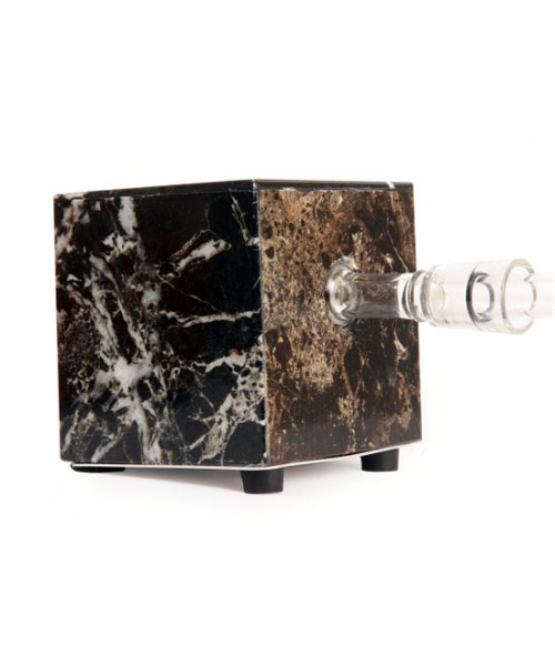Black Zebra Marble Vaporizer by Hot Box Vapors