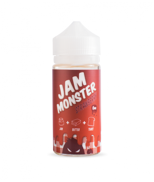 Strawberry by Jam Monster E-Liquid