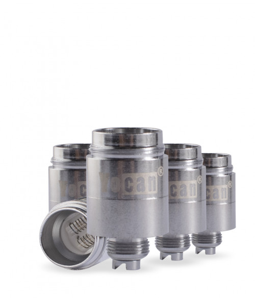 NYX Dual Quartz Coil Replacement Coil 5 Pack by Yocan