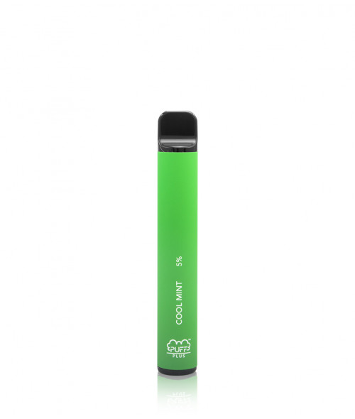 Cool Mint Puff Bar Plus Disposable Device by Puff Bars