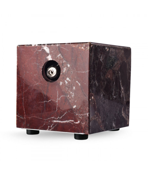 Red Zebra Marble Vaporizer by Hot Box Vapors