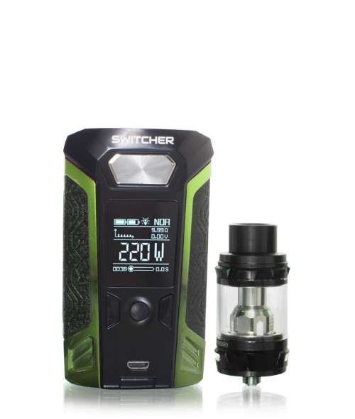 Switcher 220 Watt Temperature Box Mod kit with NRG Tank