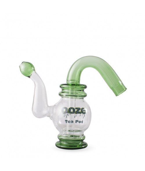 Tea Pot Water Bubbler Vaporizer by Ooze