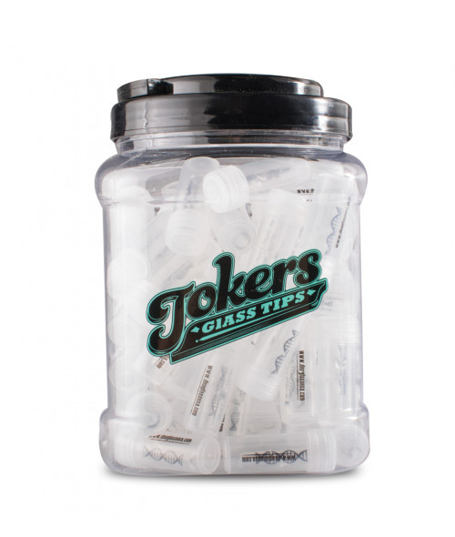 DNA Tokers Clear Tips 75 Count Jar