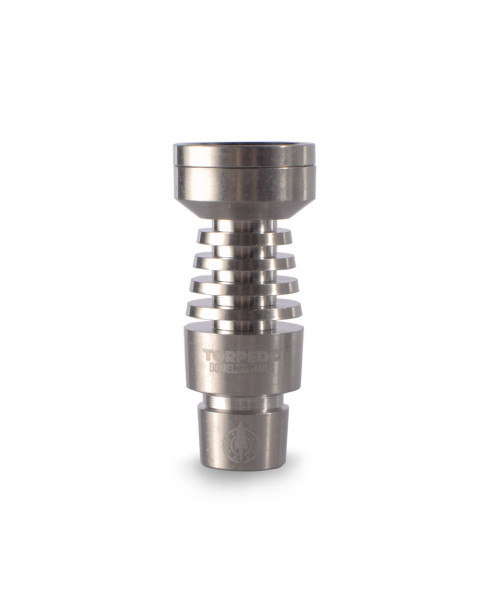 2 in 1 Titanium Domeless Nail by Torpedo