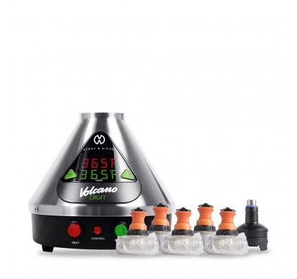 Digital Volcano Vaporizer Hot Air Generator by Storz & Bickel