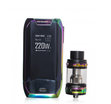 Revenger X 220 Watt Temperature Control Kit by Vaporesso