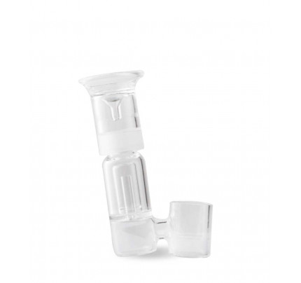 DBR Portable ENail Glass Single Perc Recycler Bubbler by Sutra Vape