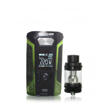 Switcher 220 Watt Temperature Box Mod kit with NRG Tank by Vaporesso