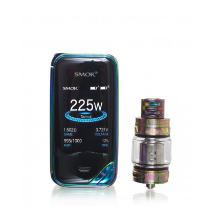 X-PRIV 225w Temperature Control Box Mod with TFV12 Prince by SMOK