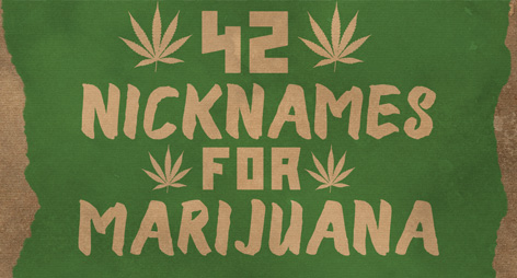 42 Nicknames for Marijuana