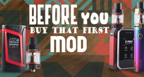 Before You Get Grab that First Mod