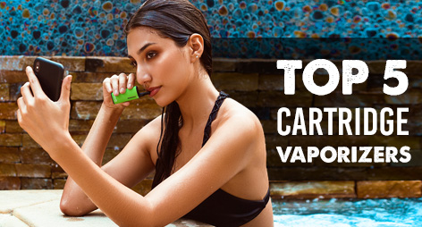 Top 5 Cartridge Vaporizers