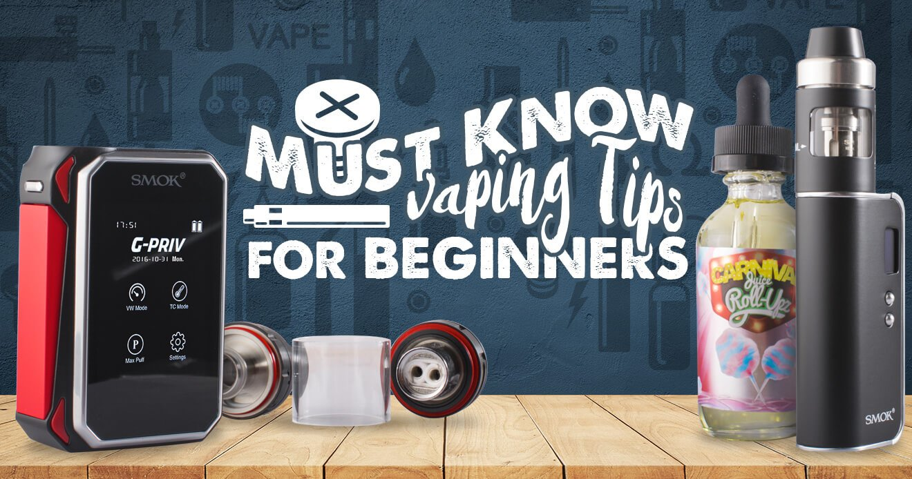 Must-Know Vaping Tips for Beginners