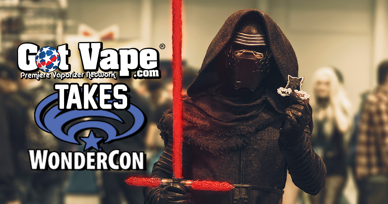 Got Vape Takes WonderCon 2019