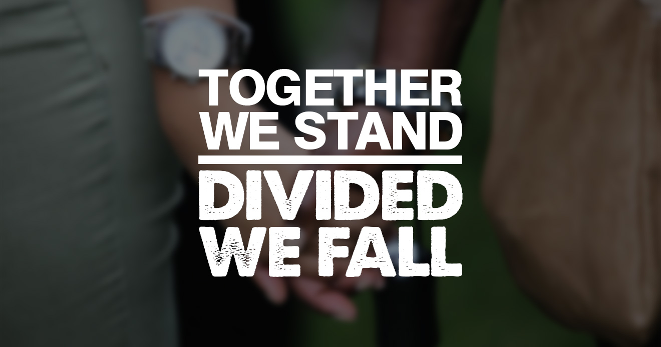 Together We Stand, Divided We Fall Blog