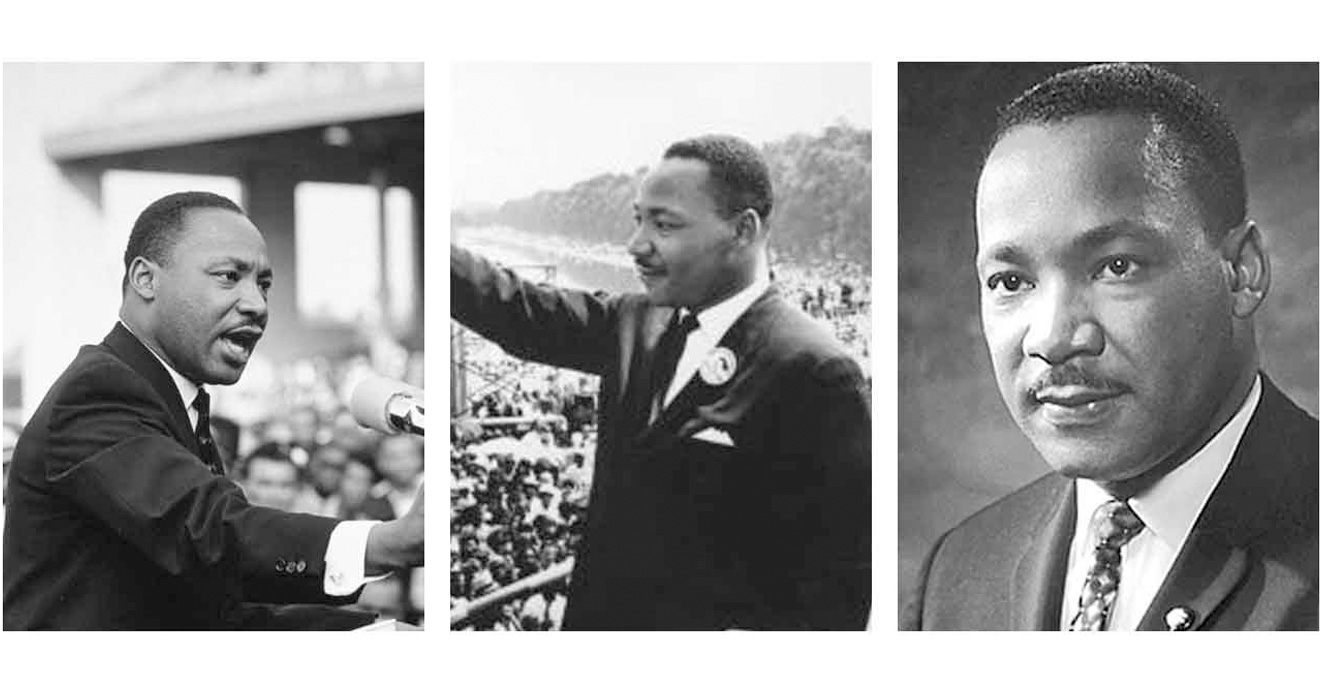 Photos of Dr. Martin Luther King Jr