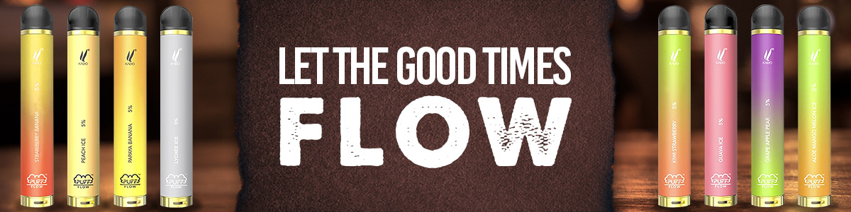 Puff Flow Let the Good Times Flow Banner