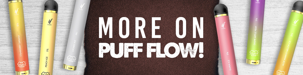 Puff Flow More On Puff Flow Banner