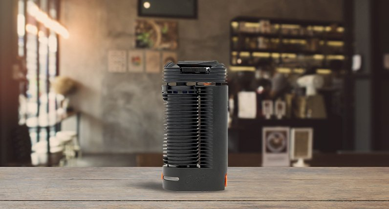 Crafty Vaporizer standing on table