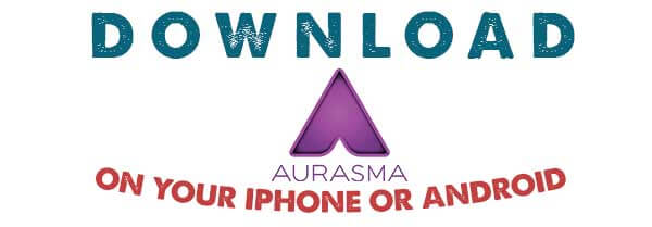 Download Aurasma on Iphone or Android
