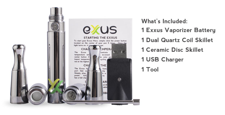 Exxus Maxx Includes