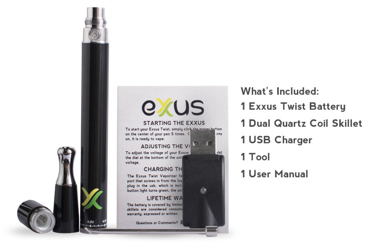 Exxus Twist Includes