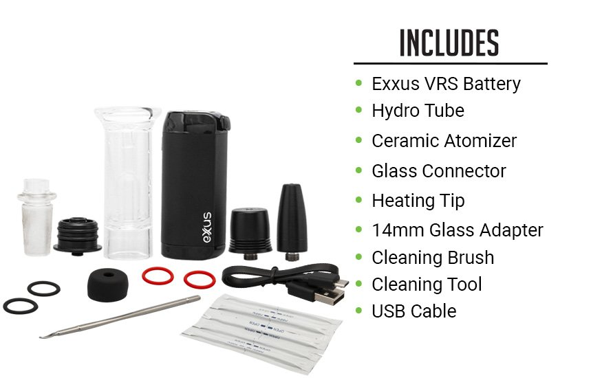 What comes with the Exxus VRS