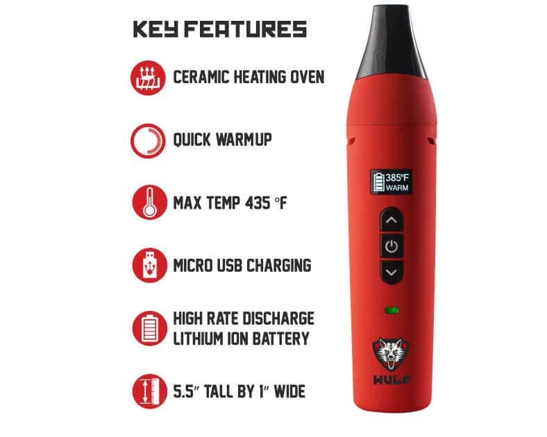 Wulf Vape LX Key Features