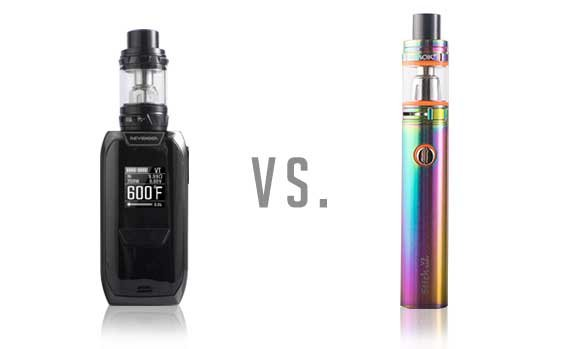 Mods VS Vape Pens