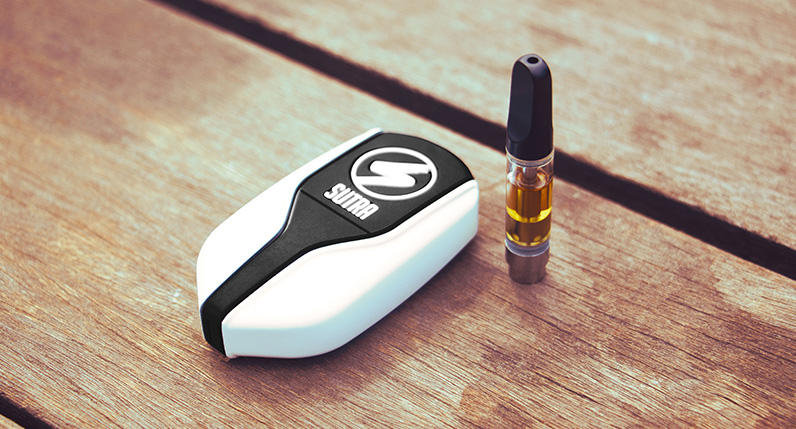 sutra squeeze on table with cartridge