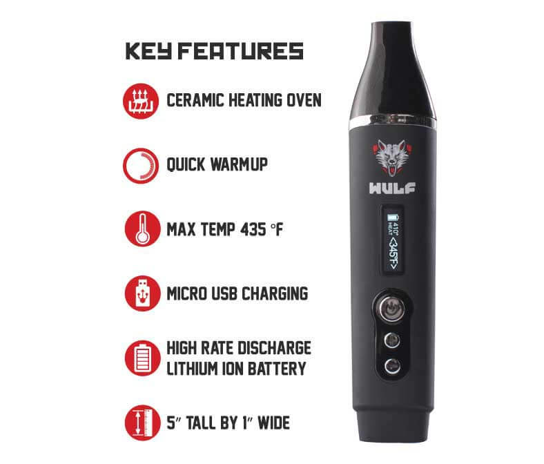 Wulf Vape SX Main Features