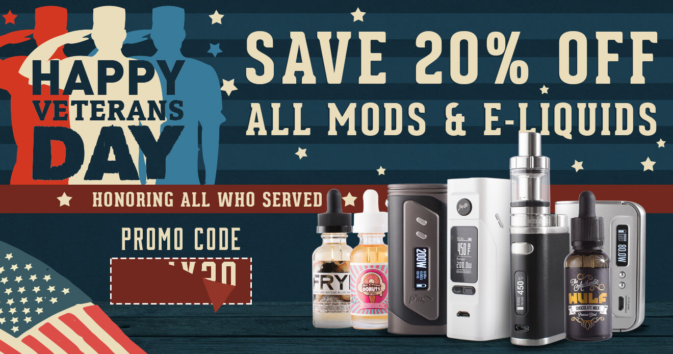 Veterans Day Save 20% Off