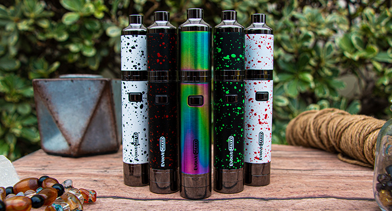 Wulf Evolve Maxxx different colors standing on table