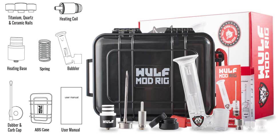 Inside the Wulf Mod Rig Kit