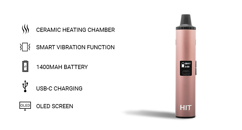 Yocan Hit key features